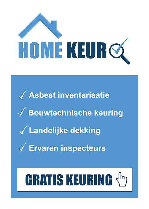 bouwtechnische keuring en asbestinventarisatie Homekeur